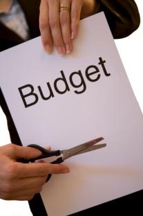 Budget coupure